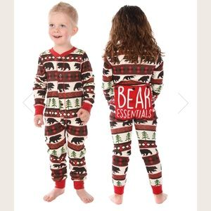 Lazy one bear essentials flapjack onesie PJs
